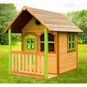 Maison Pour Enfant En Bois : cabane enfant en bois alex axi eden deco ~ Premium-room.com Idées de Décoration
