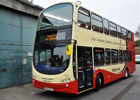 eleven  volvo hybrid buses  brighton hove