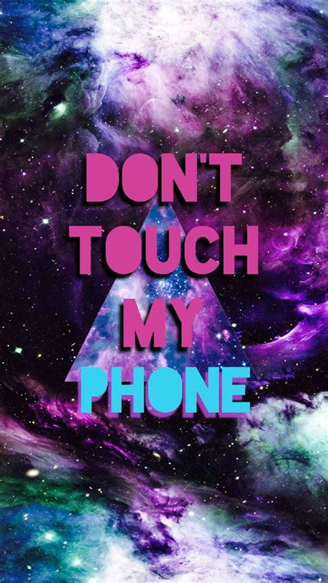 Download, share or upload your own one! Don't touch my phone - Tap to see more don't #touch my #phone wallpapers - @mobile9 | Iphone ...