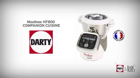 moulinex hf800 companion cuisine démonstration darty