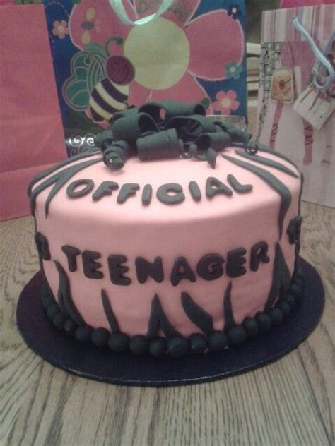 official teenager cake chads bday   birthday