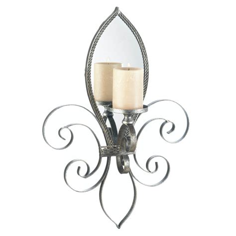 mirrored tea light candle holders mirrored wall sconce candle holder votive tea light iron