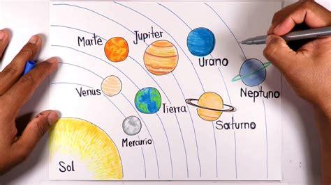 aprende  dibujar  pintar facil el sistema solar youtube