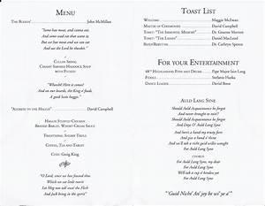 2013 burns night With burns supper menu template