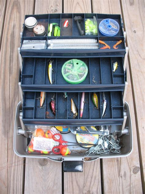 survival fishing store bought equipment