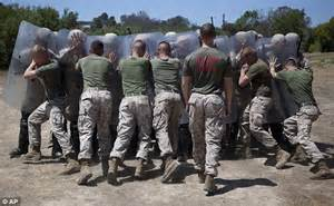 Marines set up law enforcement operation | Daily Mail Online