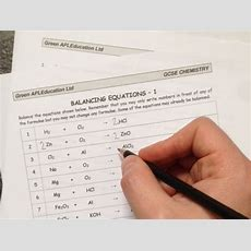 Free Chemistry Balancing Equations By Greenapl  Teaching Resources Tes