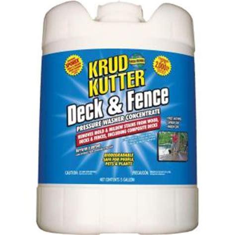 krud kutter  gal deck  fence pressure washer