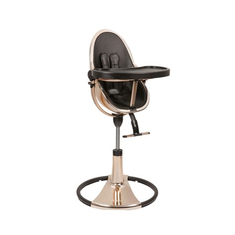 chaise haute bloom fresco high chair fresco chrome gold by bloom