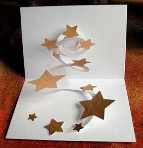 Pop Up Karte Weihnachten : weihnachtskarte basteln und sich dabei vom scherenschnitt begeistern lassen ~ Buech-reservation.com Haus und Dekorationen