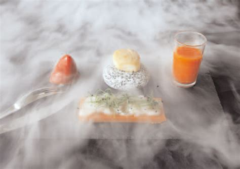 restaurant cuisine moleculaire crédit agricole exploration culinaire au futuroscope