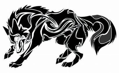 Wolf Tribal Clipart Werewolf Vector Svg Animals