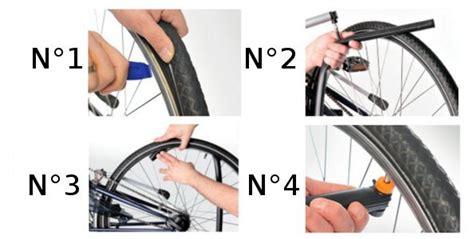 réparer une crevaison à vélo sans démonter la roue