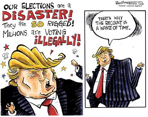 editorial cartoons    presidential elections