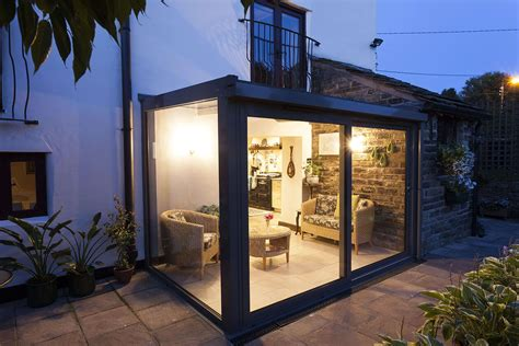 Kitchen Outdoor Ideas - glass extensions apropos conservatories