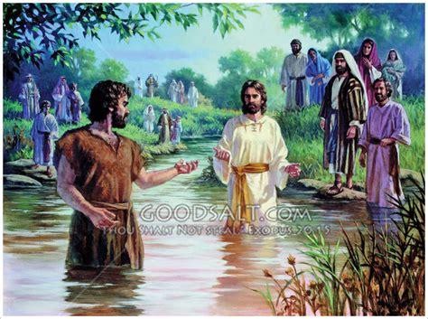 John The Baptist And Jesus' Baptism