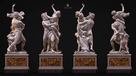 ArtStation - 3D Printing Bernini Proserpina Full Statue ...