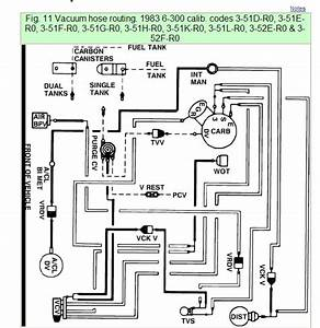 Where Can I Find A Vacuum Diagram For A 1983 Ford F100 With A 300 Ci 6 Cylinder