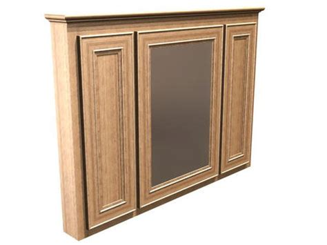 Briarwood Bathroom Cabinets Menards by Briarwood 48 Quot W X 33 Quot H Highland Medicine Cabinet Mirror