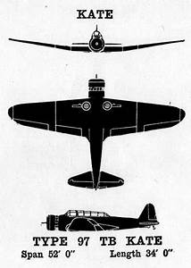 The Pacific War Online Encyclopedia  B5n  U0026quot Kate U0026quot   Japanese Torpedo Bomber