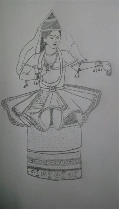 manipuri classical dance art  images dance art