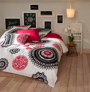 Parure De Lit Desigual : le linge de lit design la subtile impression de luxe indispensable ~ Melissatoandfro.com Idées de Décoration