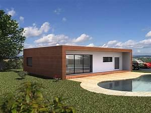 Maison Modulaire Bois : module home maison modulaire en bois ~ Melissatoandfro.com Idées de Décoration