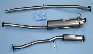 Rostfritt Avgassystem Mazda B2000 Pick