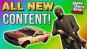 GTA 5 NEXT GEN DLC - Indestructible Car, Rail Gun, Stock ...