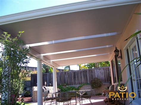 Elitewood Solid Insulated Patio Cover