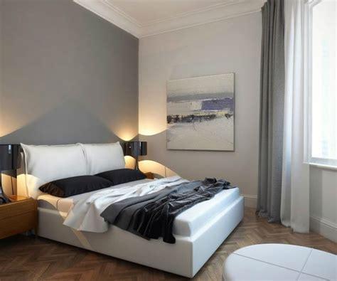 Wandfarbe Schlafzimmer Grau by Schlafzimmer Dekorieren Modern Wandfarbe Grau Wei 223 Es
