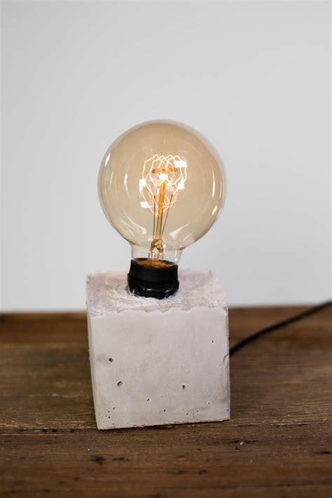 Mr. Kate   DIY Concrete Lamp