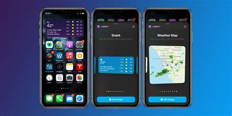 Carrot Weather shines on iOS 14 with 12 rich widgets 25