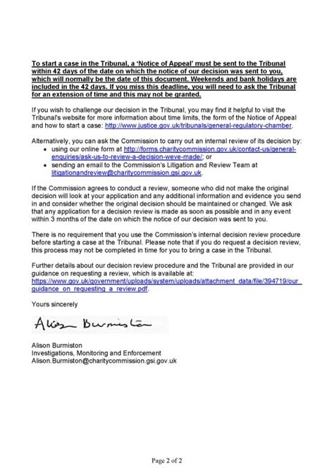 Letter What Is by Letter From Charity Commission Wimbledon And Putney Commons