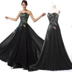 Peacock Masquerade Ball Dresses