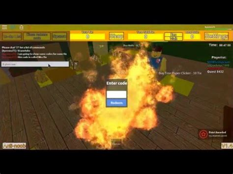 roblox tix factory tycoon codes