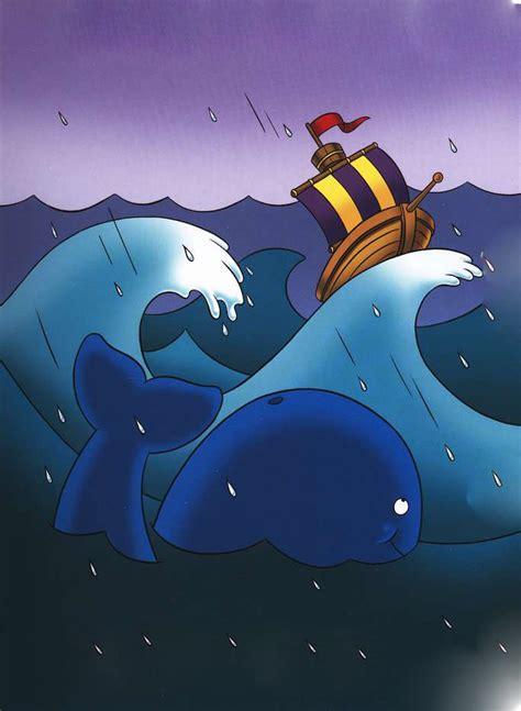 Barco En Una Tormenta Dibujo by Mundo B 237 Blico Infantil Hora Da Historinha Jonas E A Baleia
