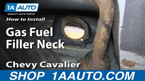 96 Cavalier Fuel Filter by How To Install Replace Rusted Gas Fuel Filler Neck 1999 05