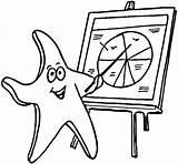 Starfish Coloring Teacher Printable Shells Supercoloring Categories Coloring2print sketch template