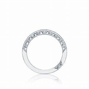 Tacori wedding bands classic crescent diamond ring for Wedding rings tacori