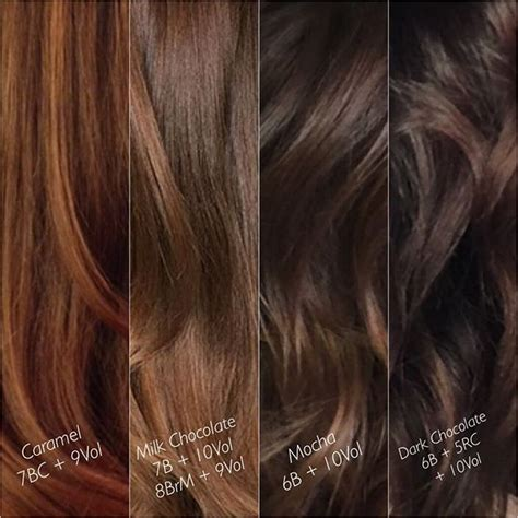 Brown Shades Of Hair by Milk Chocolate Outward Chocolate