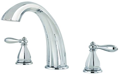 Pfister Tub Faucet by Price Pfister Rt6 5rpc Portola Deck Mounted Tub
