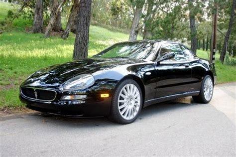 2002 Maserati Gt Coupe Black 6 Speed