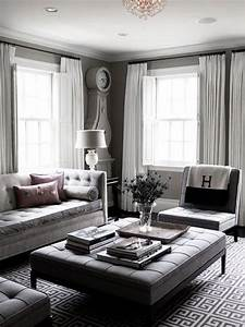 40 grey living room ideas to adapt in 2016 bored art for Home decor for gray furniture