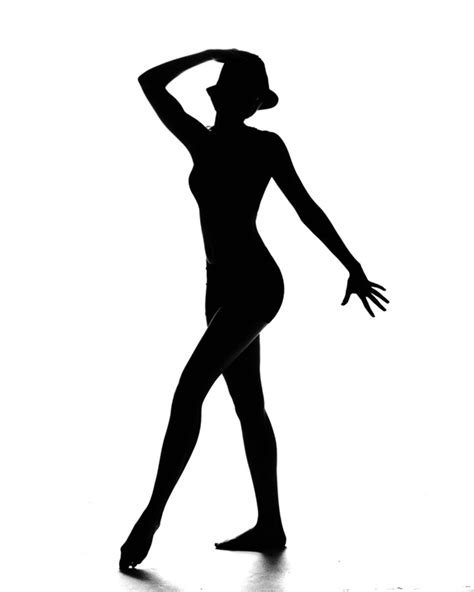 Jazz Dancer Silhouette Clipart