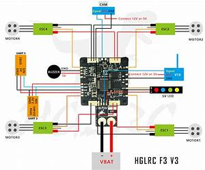 Hglrc Sp Racing F3 V3 Flight Controller 3