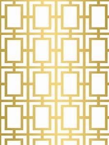 white geometric wallpaper