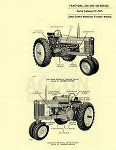 John Deere 520 530 Tractor Parts Manual Catalog Jd 527