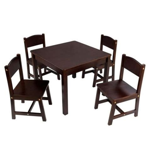 kidkraft farmhouse table and chair set furnitures sale