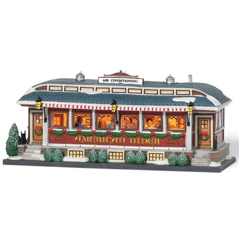 city lights collectibles department 56 799939 american diner